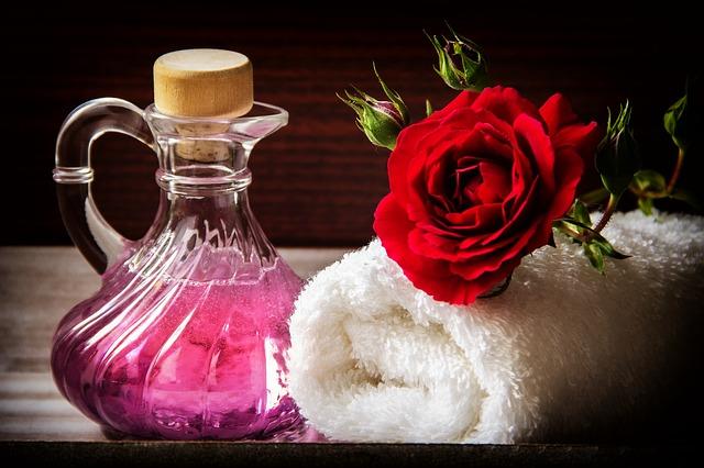 полотенце и аромамасло