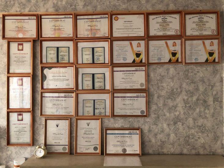 сертификаты мастера